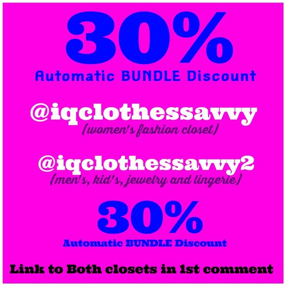 iqclothessavvy Jewelry - 30% Automatic Discount on ALL BUNDLES!
